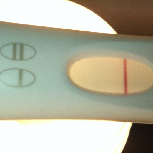 First Response Early Pregnancy Test, 8 DPO