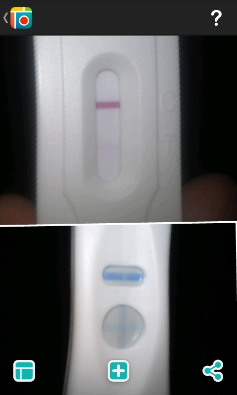 New Choice (Dollar Tree) Pregnancy Test, 14 DPO