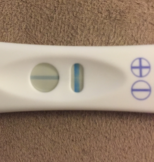 CVS One Step Pregnancy Test, 10 DPO, FMU, CD 19