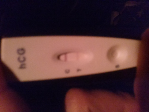 Generic Pregnancy Test, 15 DPO, CD 30