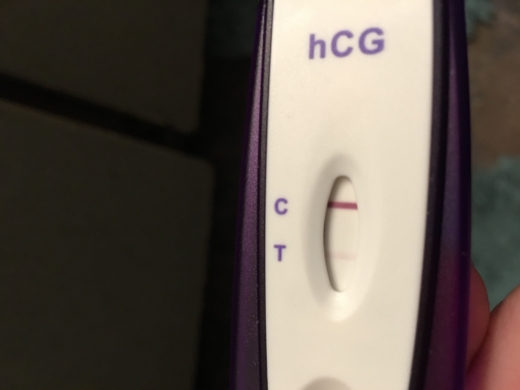 First Signal One Step Pregnancy Test, 11 DPO, FMU