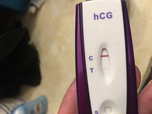 First Signal One Step Pregnancy Test, 11 DPO