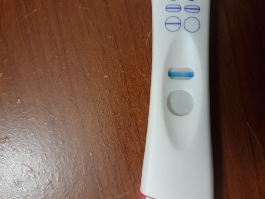 Equate Pregnancy Test, 10 DPO, CD 44