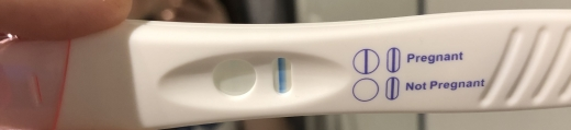 Generic Pregnancy Test, 13 DPO, CD 26