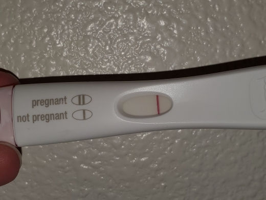 First Response Rapid Pregnancy Test, 13 DPO, FMU, CD 31