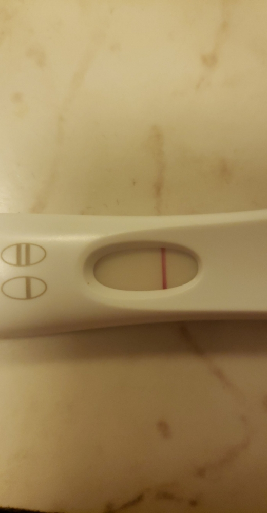 First Response Early Pregnancy Test, 15 DPO, FMU