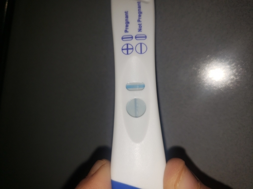 CVS One Step Pregnancy Test, 13 DPO, CD 31