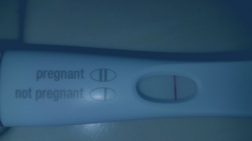 First Response Early Pregnancy Test, 10 DPO, CD 27