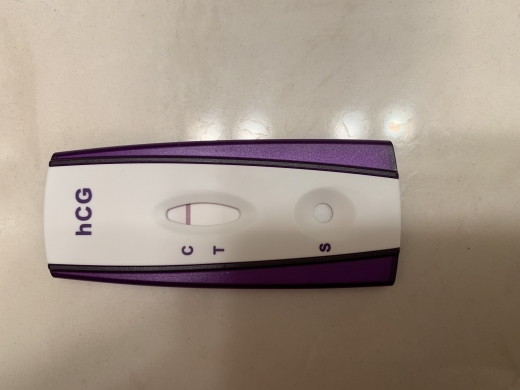 First Signal One Step Pregnancy Test, 13 DPO, CD 30