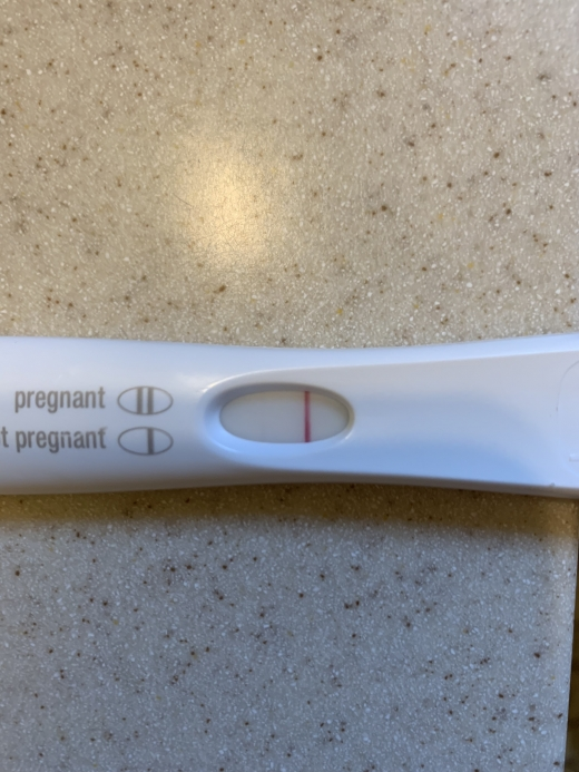 First Response Early Pregnancy Test, 8 DPO, FMU