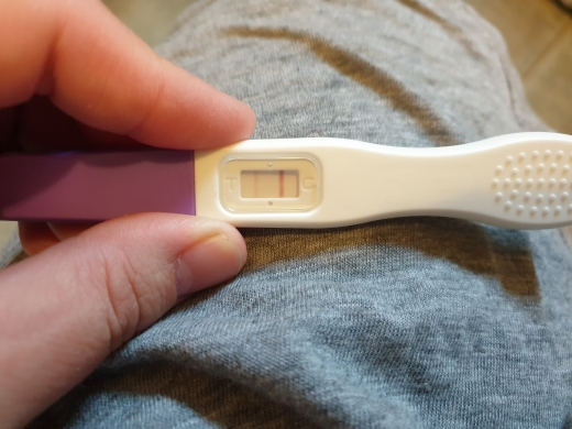 Home Pregnancy Test, 15 DPO, CD 32
