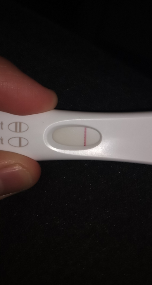 First Response Rapid Pregnancy Test, 12 DPO