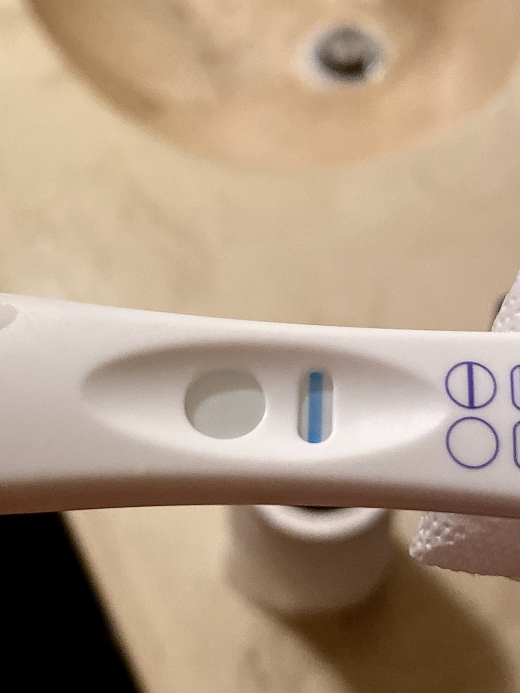 Equate Pregnancy Test, 18 DPO, CD 41