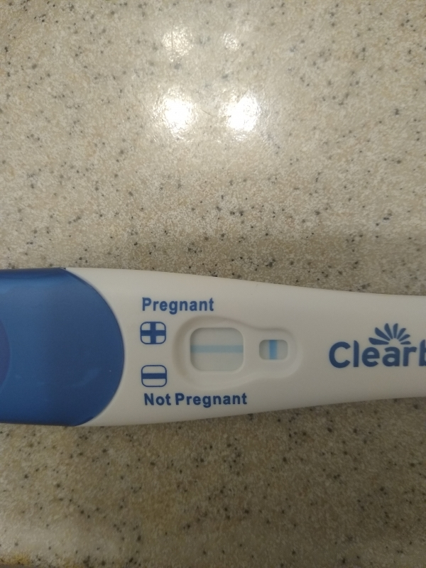 Clearblue Advanced Pregnancy Test, 10 DPO